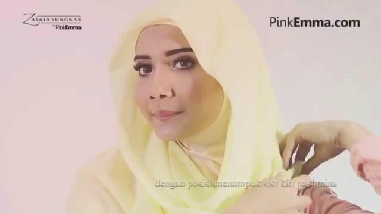 Tutorial Hijab Pashmina Anggun Dengan Gaya Minimalis Zaskia