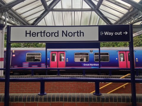 Full Journey on Great Northern (Class 313) from London Moorgate to Hertford North