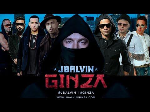 J. Balvin, Yandel, Farruko, Nicky Jam, DeLaGhetto, Daddy Yankee, Zion & Arcángel – Ginza (Remix)