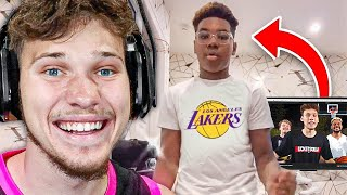 LeBron's Son Watches My Videos?!