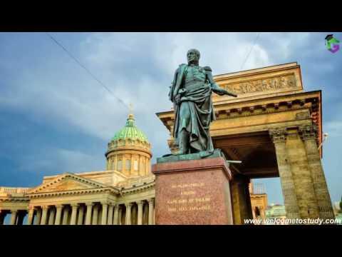 Study in Saint-Petersburg.