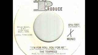 The Temprees - I'm For You, You For Me.wmv