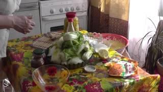 312. Пекинская капуста под кимчи. Корейская кухня. Амурка онлайн.