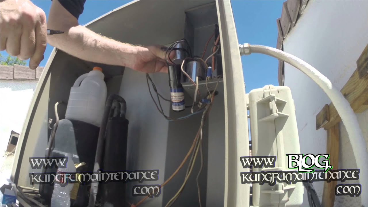 Reviving Air Conditioner Overheated Compressor Not Starting Cap Hvac Hard Start Kit Wiring Diagram Change Out Microfarad Test