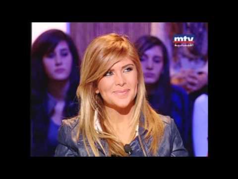 "Aline Lahoud - Talk of the Town Part ""Interview"""