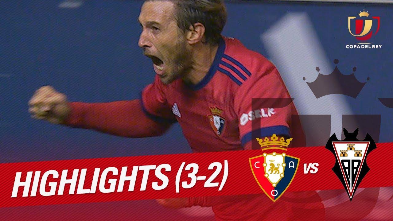 Osasuna 2-2 Albacete
