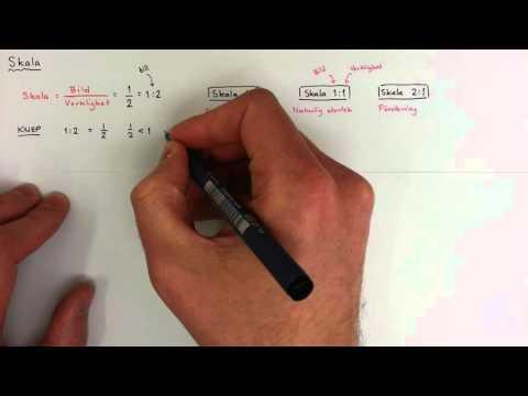 7 - Geometri - Skala