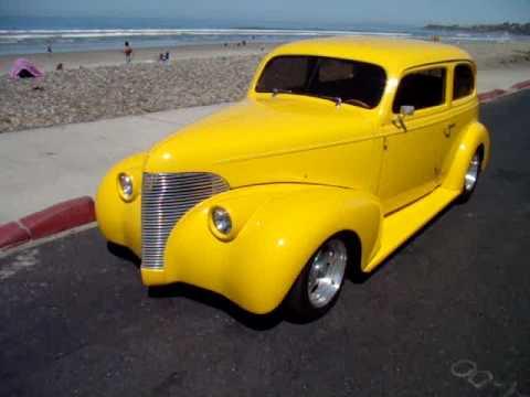1939 Chevy Hot Rod 2 Door Sedan   Cardiff State Beach ...