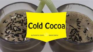 Learn How to Make Cold Cocoa in Just 2 Minutes | Chef Palak Thakkar | Palak's Kitchen Express