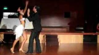Performance by Oliver Pineda, Luda Kroitor at Salsa Fiesta