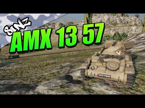 FASTEST CLIP IN THE WEST (HMH: AMX 13 57 Gameplay) - World of Tanks Console | Tank Review