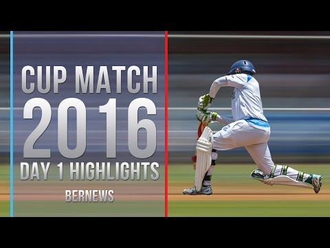Day #1 2016 Cup Match Cricket, July 28 2016