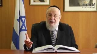 ערוץ אורות - הרב ישראל מאיר לאו - פרשת וארא: לעולם אל תפקפק במתנות שאלוקים נותן לך!