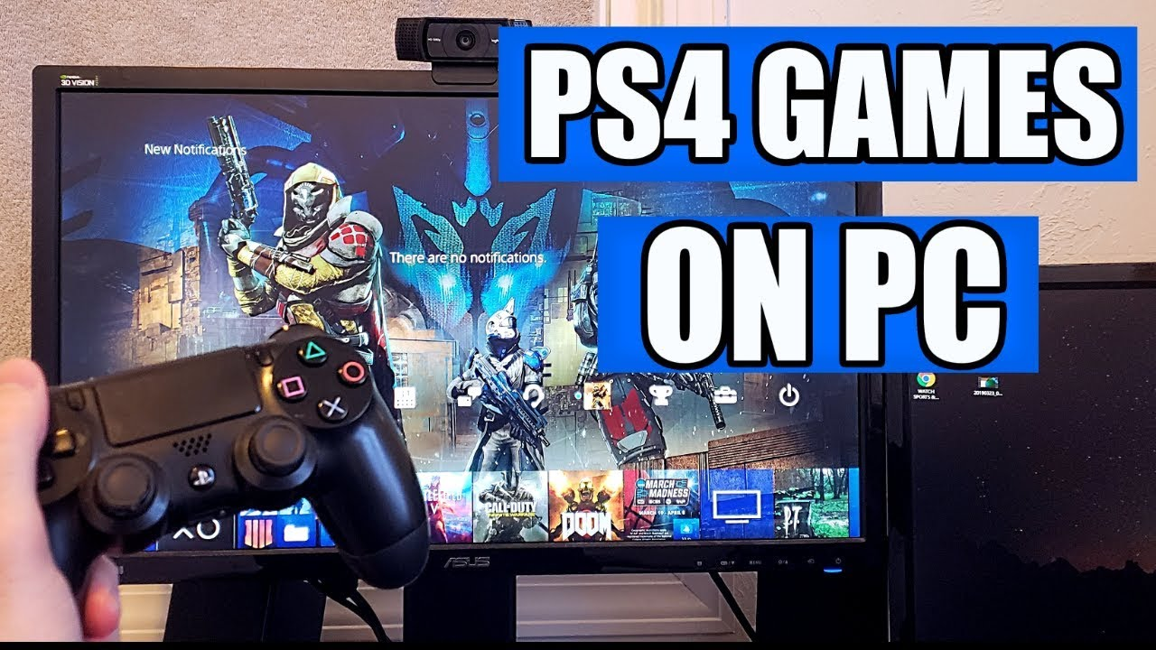 Play PS4 Games On Your PC / Step-By-Step Guide (2019)