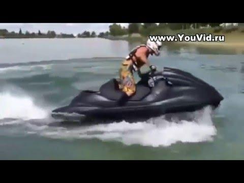 Гидроцикл с мотором