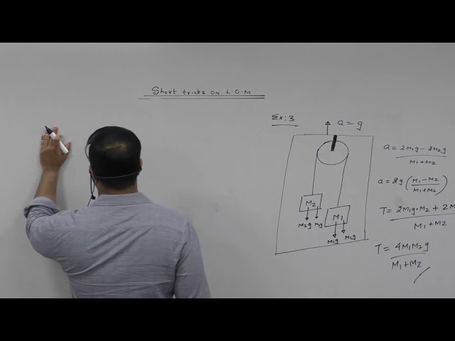 Short tricks on Laws of motion . JEE (Main, Advanced) NEET