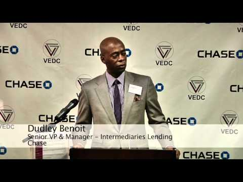 Chase Donates $5 million to VEDC to Boost Small Business Lending - http://www.vedc.org