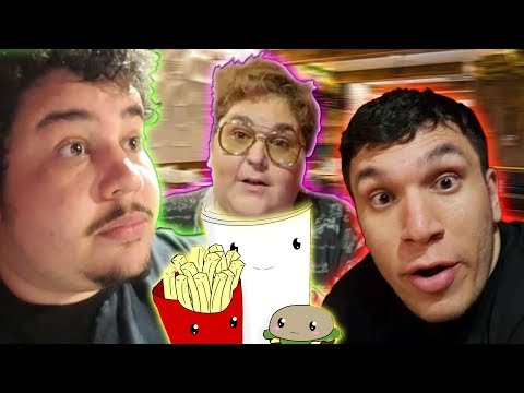 Wholesome Dinner With Grandma & Father Ft.(Andy Milonakis, Trainwreckstv)