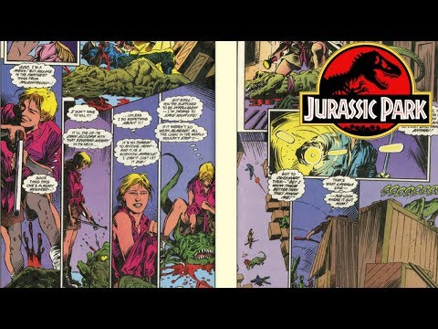 The Jurassic Park Stories You Never Got To See - Jurassic Park Comic Books!