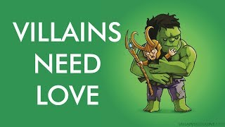 Super Villains Need Love | Walkthrough