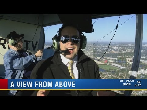 News Channel 8 rides along on blimp flight over Tampa