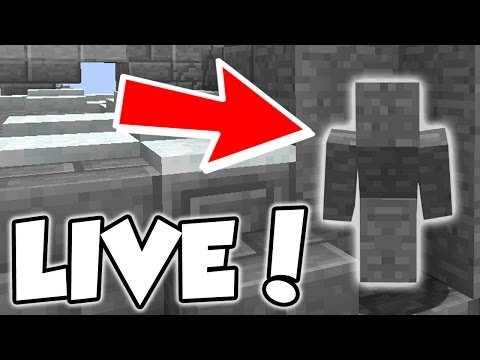 I AM STONE CHALLENGE LIVE! | Minecraft Trolling (Hypixel Sky Wars)