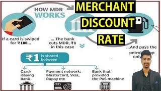 #UPSC #Economy What is Merchant Discount Rate ? No MDR on RuPay and UPI transactions
