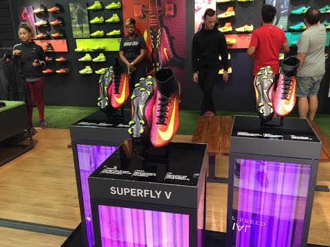 Soccer Cleat Shopping in NYC!