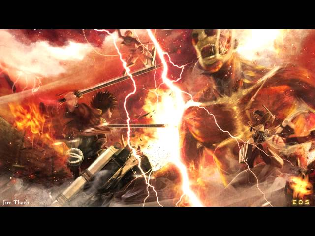 Jim Thach - The Power of Human Will (Attack On Titan Fan Made track)