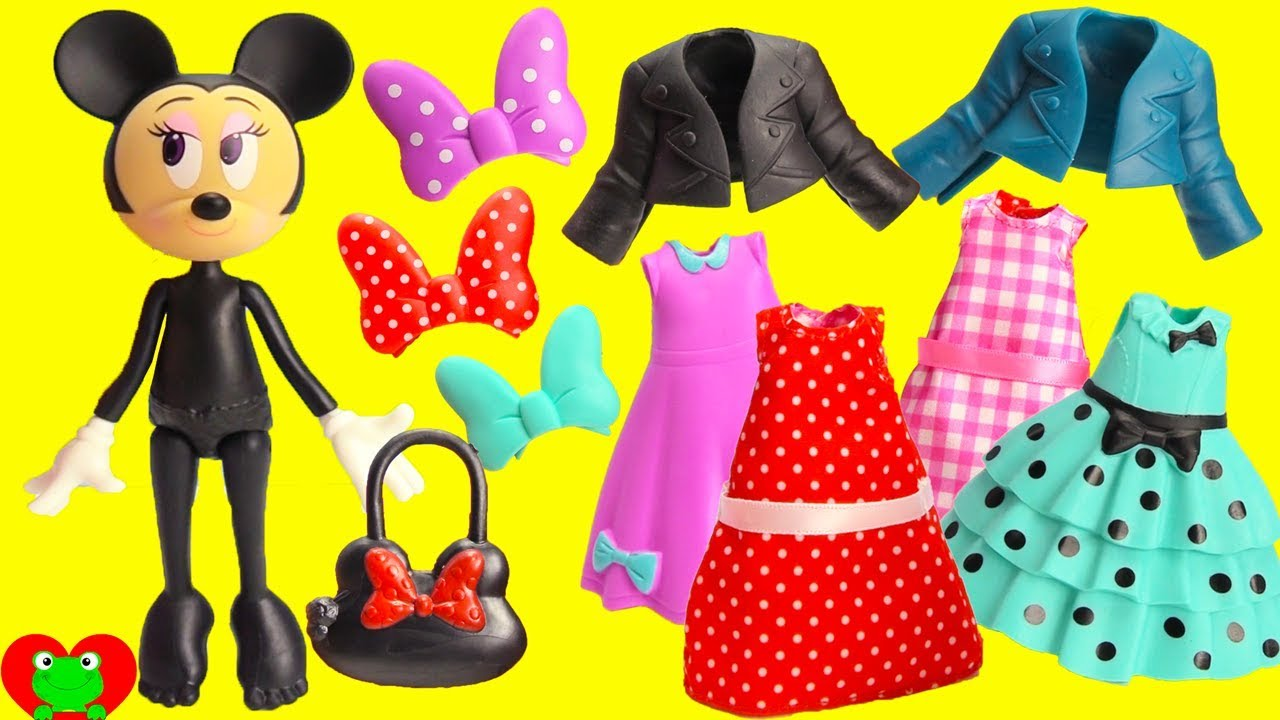 Mix And Match Minnie Mouse Fashion Change