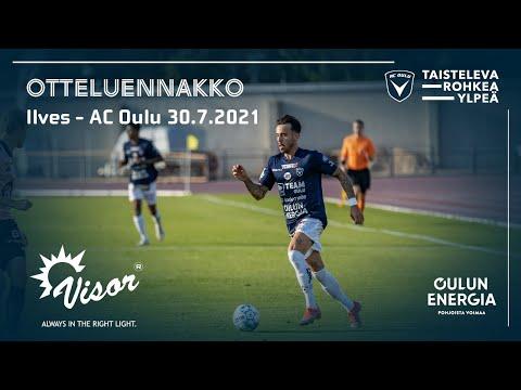 ACOTV:Visor otteluennakko Ilves - AC Oulu 30.7.2021 (Veikkausliiga)