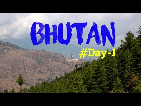 Journey to Bhutan | Bhutan Tour Plan From India | Day-1 | Kolkata to Bhutan | GypsysoulSukanya