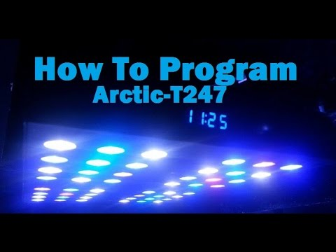 how to arduino controlled ocean revive arctic t247 ramping led
