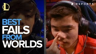 Best Fails from EVERY League of Legends World Championships (2011-2016)