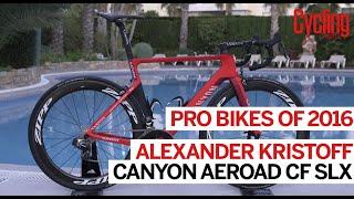 Pro bikes of 2016: Alexander Kristoff Canyon Aeroad CF SLX   Cycling Weekly