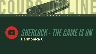 Sherlock - ''The Game is on'' - Harmonica C