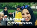 GIVING A HOMELESS MAN A JOB! | #AndrewBraveheart