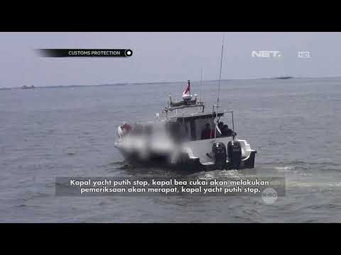 Operasi Penangkapan Kapal Pembawa Narkotika Part 1 - Customs Protection