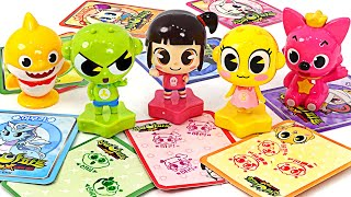 Let's collect the Sinbi apartment praise stamp~! Come on~ Sinbi and Baby Shark, Pinkfong Gather !