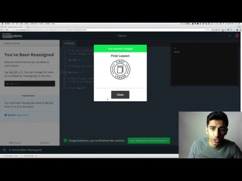Codecademy Learn How To Code In Python