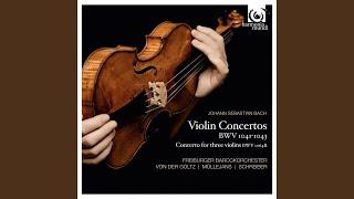 Concerto for three violins BWV 1064R in D Major: I.