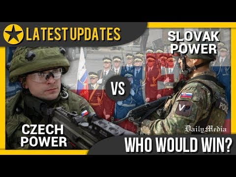 Czech Republic vs Slovakia - Military Power Comparison 2018 (Latest Updates)