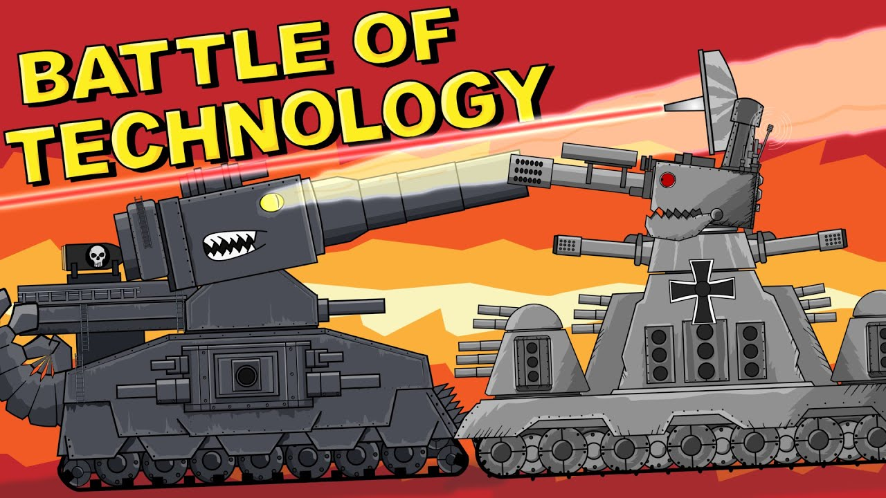 Battle of Technology - Cartoons about tanks