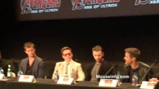 Marvel Avengers: Age of Ultron Press Conference