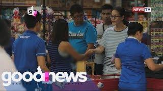 Good News: Social experiment: Nanay, kinulang ang pambili ng gatas para sa anak Video