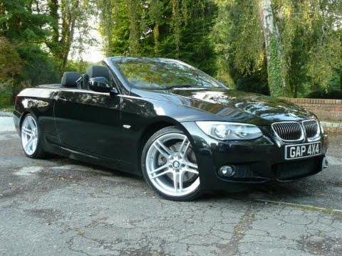 Black BMW I Cabriolet M Sport Auto YouTube - Bmw 325i 2011