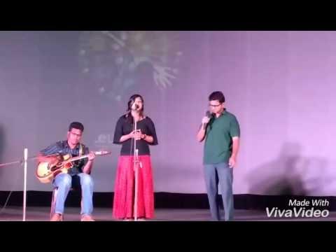 Duet Singing...Moh Moh Ke Dhage..