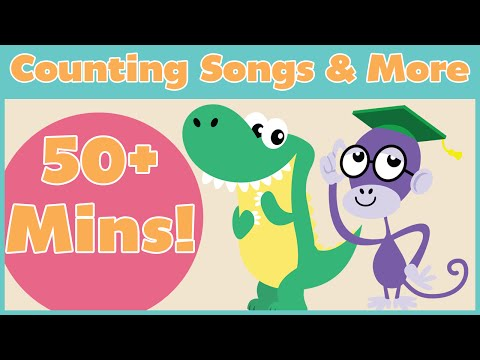 Counting Songs and More! | 50+ Mins of Nursery Rhymes From Baby Genius
