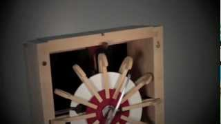 MKLOK mixte table clock 5