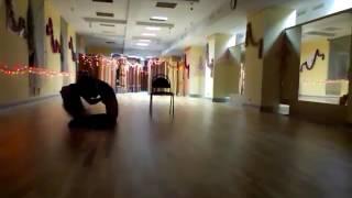 Ябедина Юлия - Стрип пластика - Приват танец (тренировка)